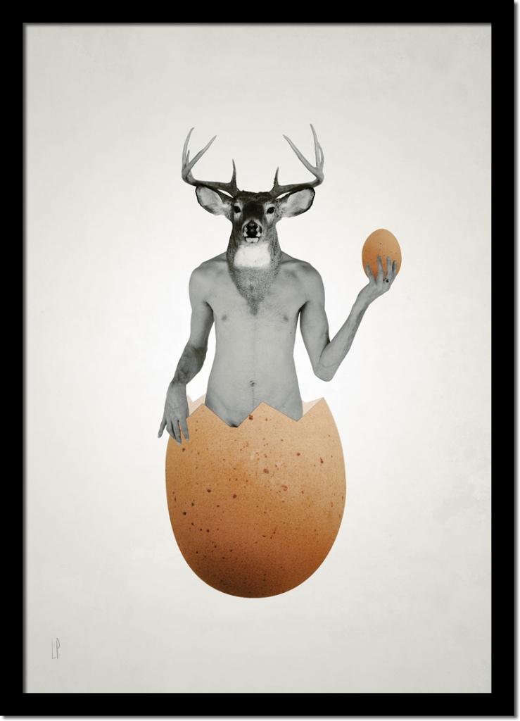 L'oeuf de cerf / Luc Pallegoix, 2014.